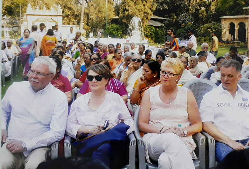 Holi Celebrations at Old Age Home